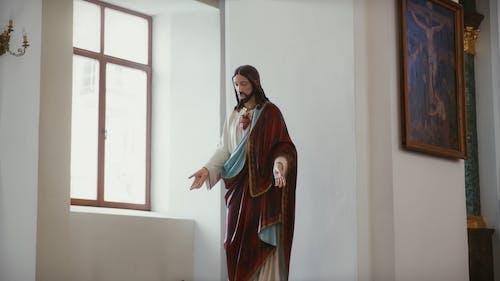 Footage Of Jesus Christ Sculpture