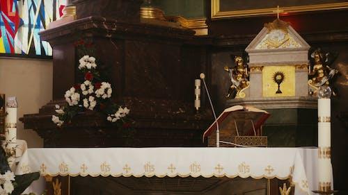 Nun Serving the Altar