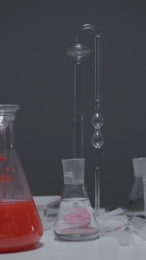 Footage of Laboratory Tools
