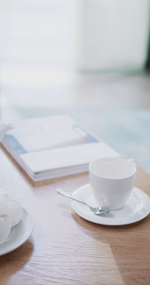 Cup and Saucer on the Center Table