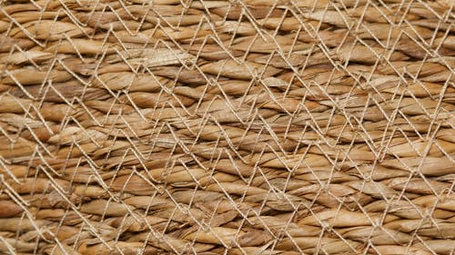 Close-up of a Woven Surface