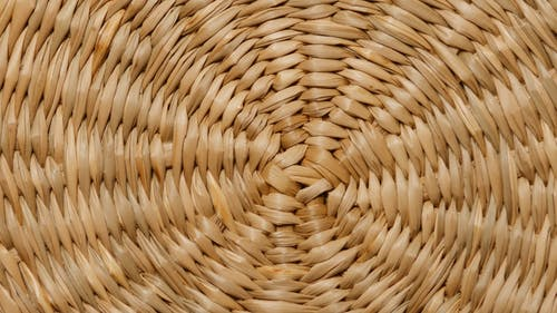 Close Up Look of Rattan