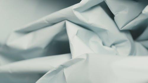 Close-up of a Crumpled Paper