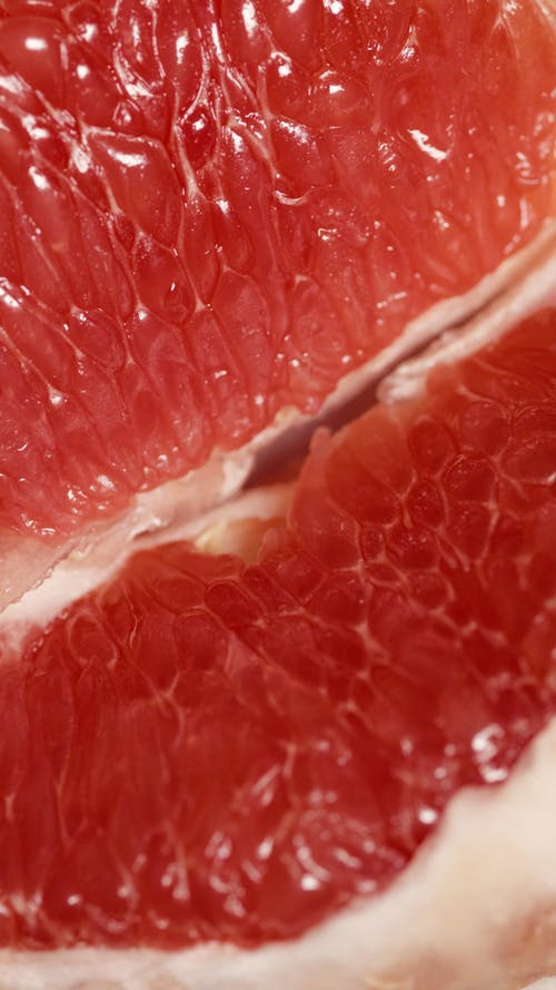 Close-Up Video of a Pomelo