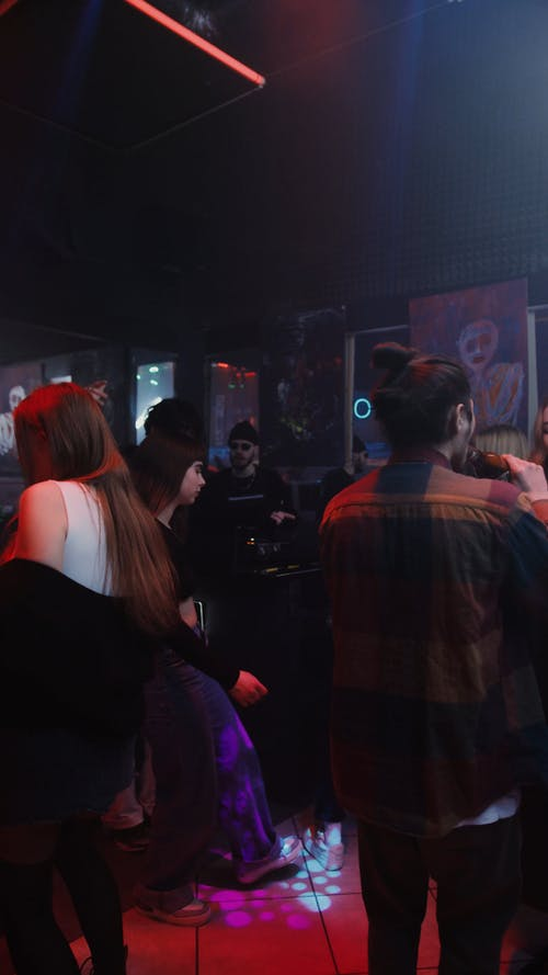 People Dancing in a Party
