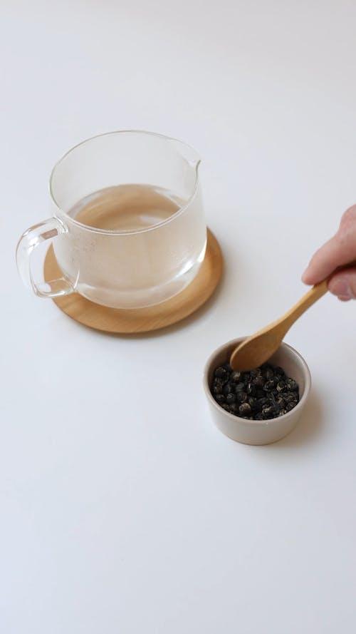 A Person Making a Tea