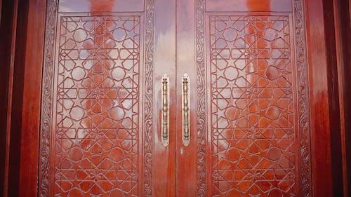 Intricate Designs on a Door