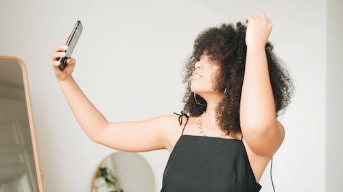 Woman Doing Selfie