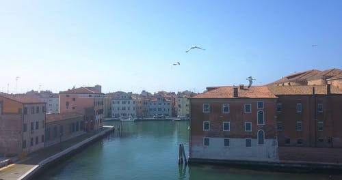 Aerial Footage of Venice