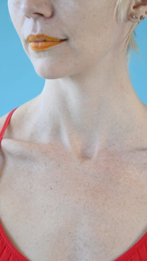 A Collar Bone of a Woman