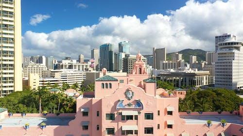 Drone Footage of the Royal Hawaiian Hotel