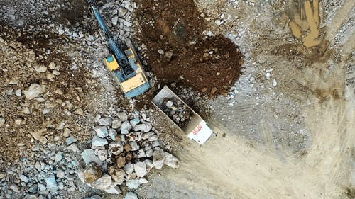 Excavation on a Construction Site