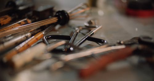 Tools Used In Glass Making