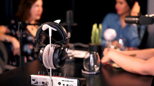 Women in a Podcast