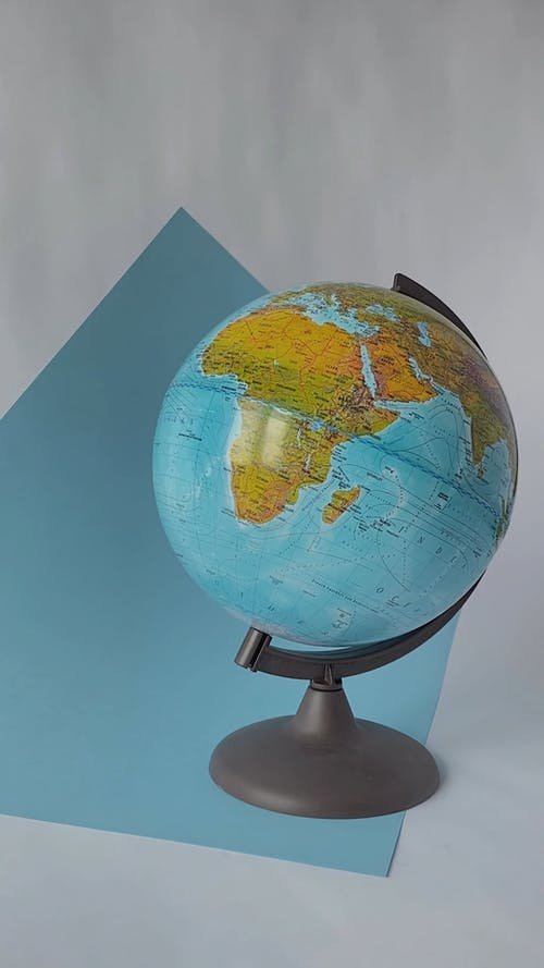 A Globe On Its Stand