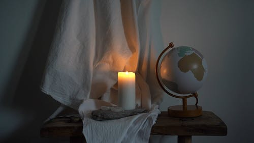 The Flickering Light Of A Candle
