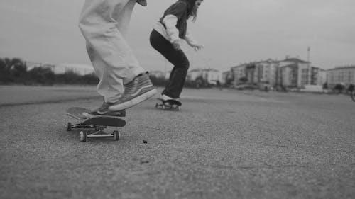 People Doing Skateboard Tricks