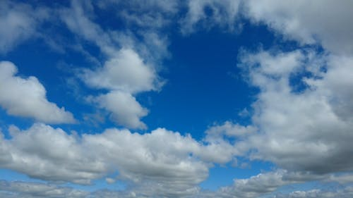 Time-lapse Video of a Cloudy Sky