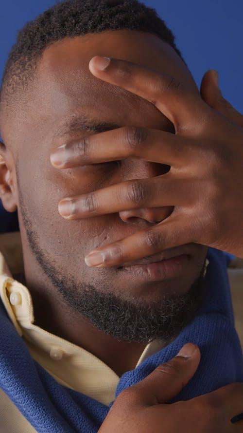 Close up Video of a Man