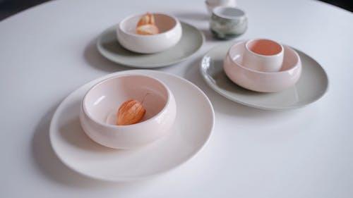 Footage of Tableware