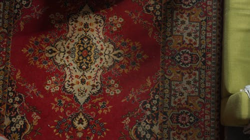 Couple Lying on the Carpet