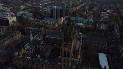Aerial View of the University of Glasgow
