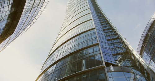 Video of a Tall Building