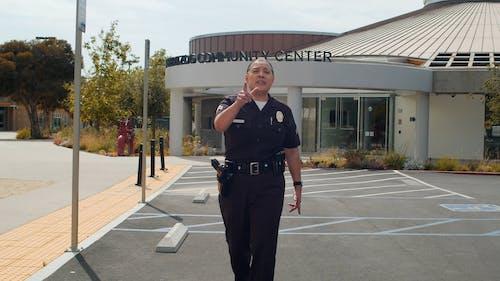 Police Officer at Job
