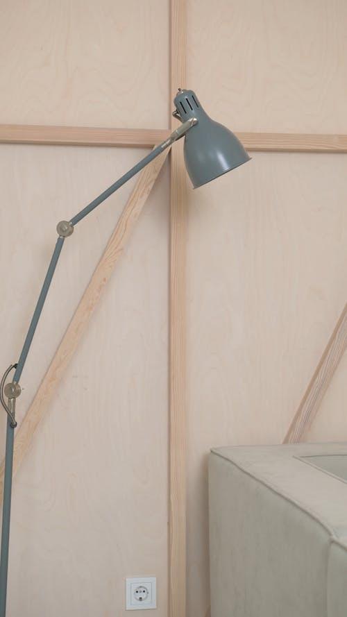 Modern Decorative Lamp in Minimalist Room