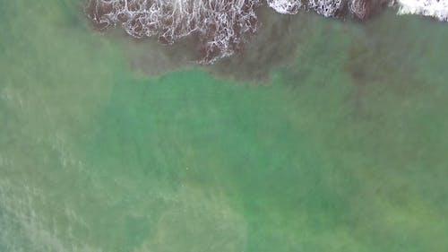 Aerial Footage of an Ocean