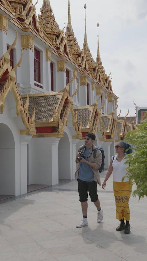 Couple Enjoying Travel