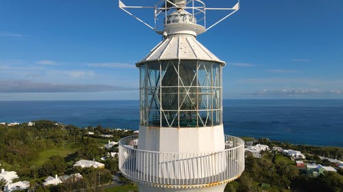 Drone Footage of a Lighthouse