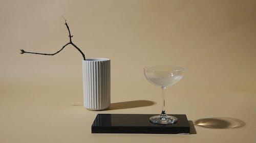 A Twig in Ceramic Vase