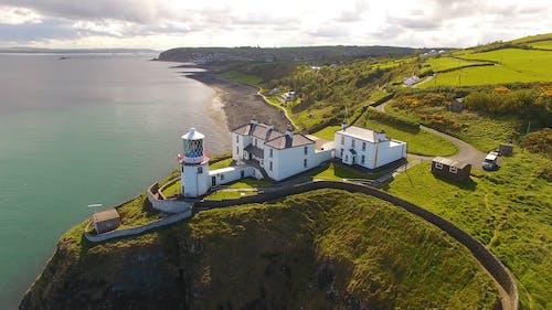 Drone Footage of Blackhead Lighthouse