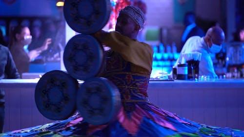 A Man Doing Tradional Dance