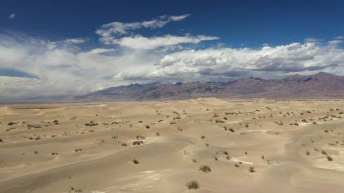 Push in Shot of Death Valley Desert