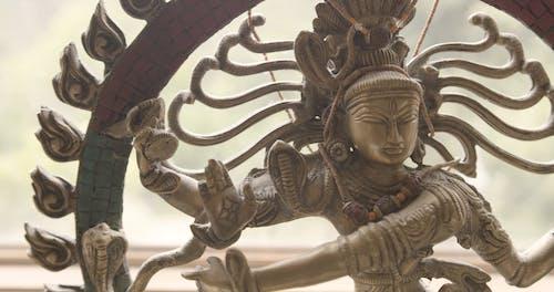Close Up View of Shiva Nataraja Model
