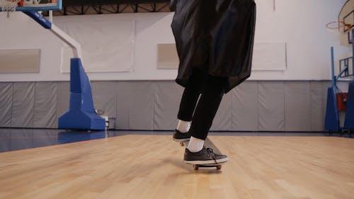 Graduate Student Skateboarding