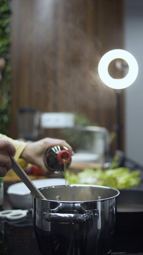 Girls Making a Cooking Vlog