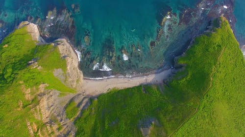 Aerial Footage of a Shore