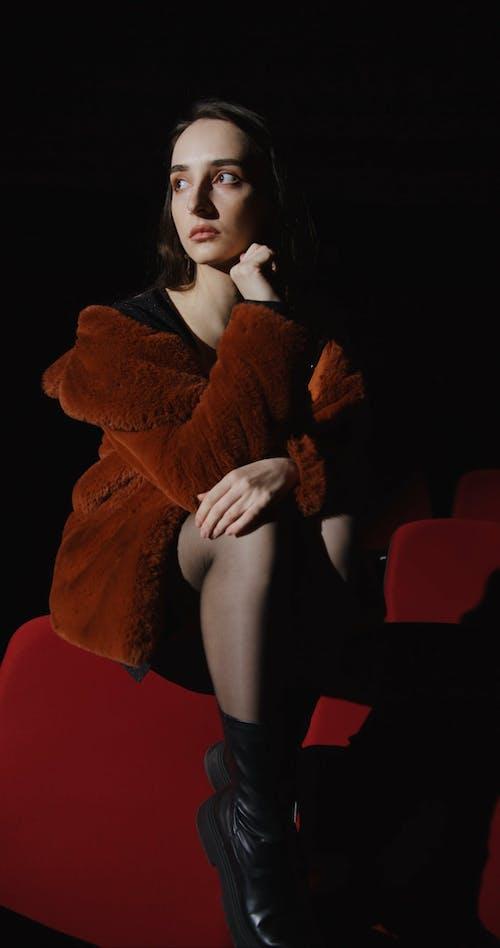 A Woman Sitting