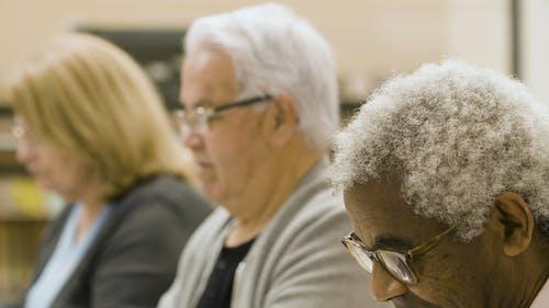 Medium Close Up of Elderly People
