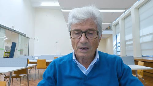 Medium Close Up of an Elderly Man