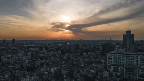 Time-lapse Video of the City in Istanbul