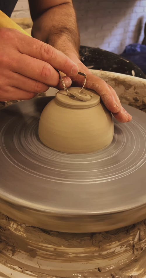 Person Molding With Clay