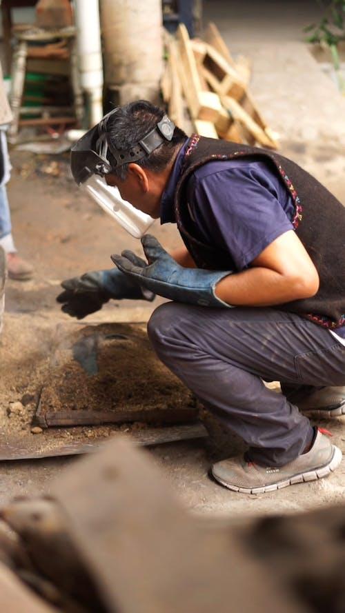 Men Doing Manual Work