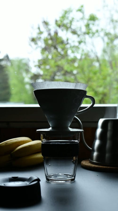 Timelape of a Person Making a Coffee