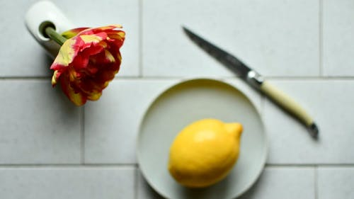 Time Lapse Footage of a Person Making Lemon Juice