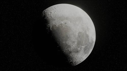 Full Shot of the Moon
