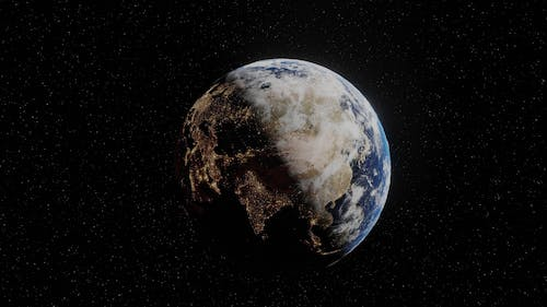 Video of a Earth